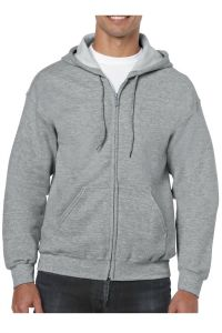 Gildan® Heavy Blend™ Full Zip Hooded Sweatshirt 18600