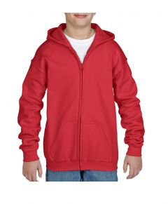 Gildan® Youth Heavy Blend™ Full Zip Hooded Sweatshirt 18600B