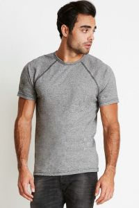 Men's Mock Twist Raglan Crew - Next Level Apparel - 2050