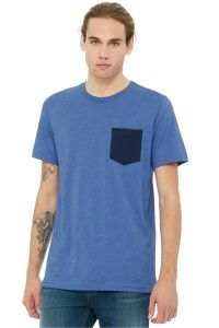 3021 - Bella+Canvas Men's Jersey Short Sleeve Pocket Tee