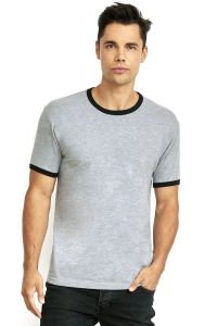 Next Level Apparel - Men's Cotton Ringer Tee - 3604