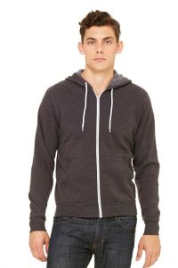 Bella+Canvas - Unisex Sponge Zip Hood - 3739