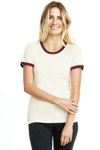 Next Level Apparel - Women's Cotton Ringer Tee - 3904