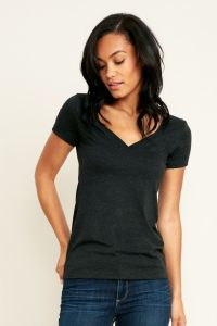 Next Level Apparel Ladies Tri-blend Deep V - 6740