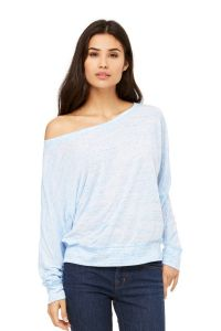 Bella+Canvas - Flowy L/S Off Shoulder - 8850