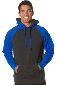 Independent Trading Co - Raglan Pullover Hooded Sweatshirt - IND40RP