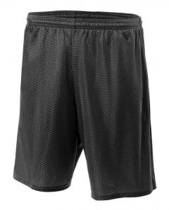"N5296 - 9"" Lined Tricot Mesh Short"