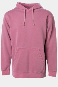 Unisex Midweight Pigment Dyed Hooded Pullover PRM4500