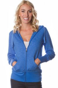Independent Trading Co - Baja Stripe French Terry Zip Hood - PRM655BZ