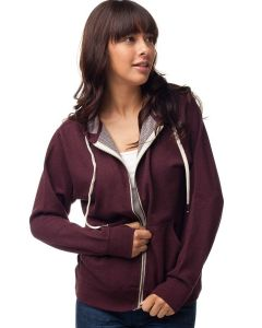 Independent Trading Co. - Heather French Terry Zip Hooded Sweatshirt - PRM90HTZ